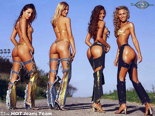 hot jeans team