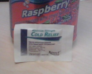 *note, it is not raspberry flavored