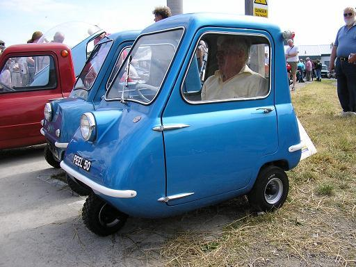 peel p50 mini car