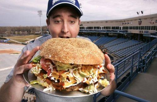 ODD Bodacious Ballpark Burger