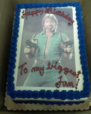 chuck birthday cake