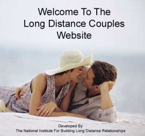 long distance couple