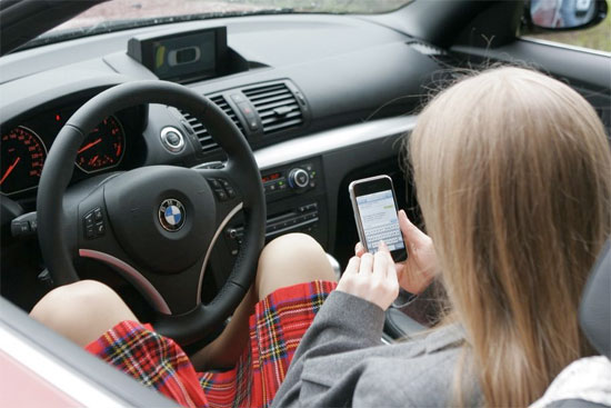 iphone girl bmw