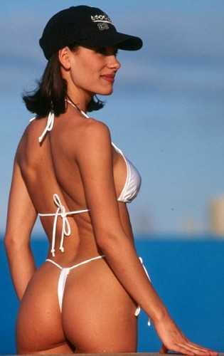 rear sexy thong bikini