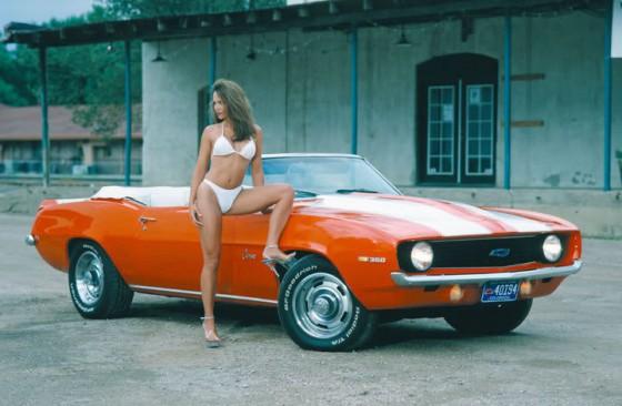 Chevy Camaro girl