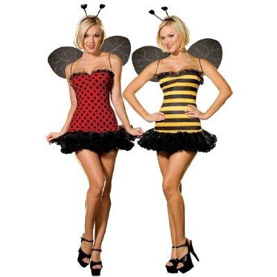 Lesbian Bugs (Tandem Womens Costume)