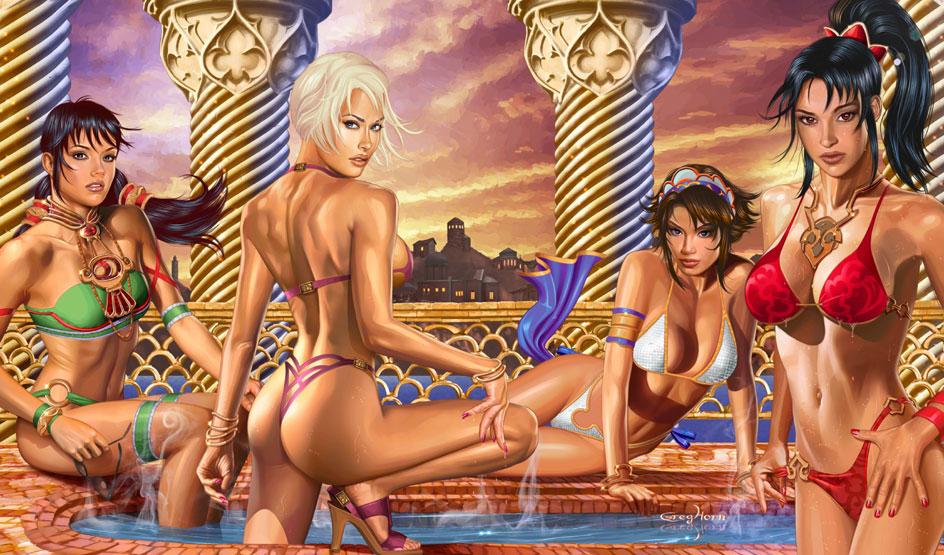 Pulp Erotic Fiction Framed Art Print By Vava
