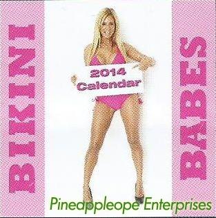 bikini babes - 2014 ruby calendar